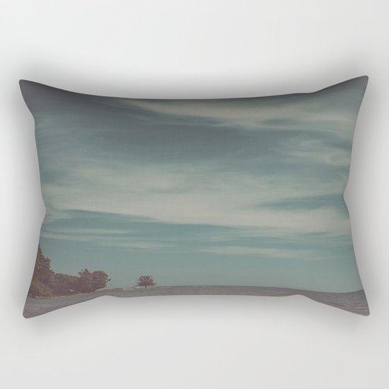 Let's Just Breathe Rectangular Pillow