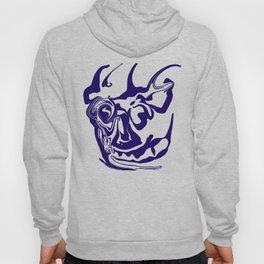 face8 blue Hoody