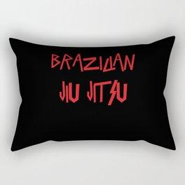 Brazilian Jiu-Jitsu Slay BJJ Rectangular Pillow