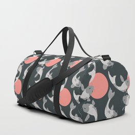 Koi fish pattern 001 Duffle Bag