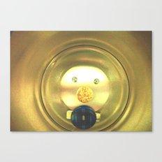 Tea jar smile. Canvas Print
