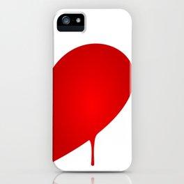 Half Heart Man iPhone Case