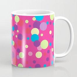 Seamless pattern with color circles. Polka dot. Coffee Mug