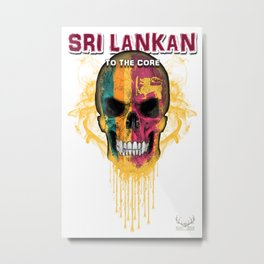 To The Core Collection: Sri Lanka Metal Print