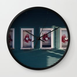 Red Sox Wall Clock