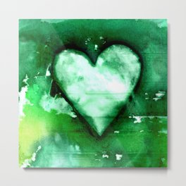 Heart Dreams 3D by Kathy Morton Stanion Metal Print