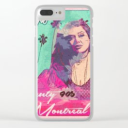 Yvonne ArtWork Collection 01 Clear iPhone Case