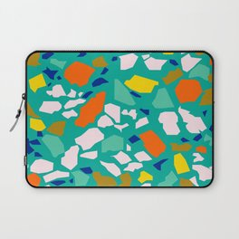 Terazzo Pattern in Pool Laptop Sleeve