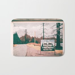 Welcome to Twin Peaks Bath Mat