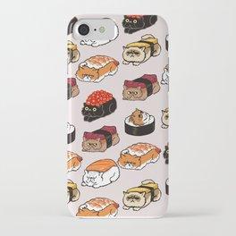 Sushi Persian Cat iPhone Case