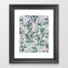 Prickly Pear Patch pt1. Framed Art Print