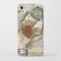 atlas iPhone & iPod Cases featuring Atlas by DIVIDUS