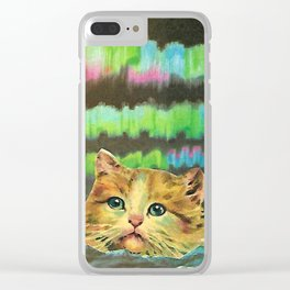 Mystic Pussy Clear iPhone Case