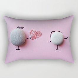 Stones Love Rectangular Pillow
