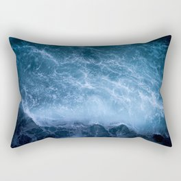 Waves from above Rectangular Pillow