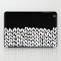 knit iPad Cases featuring Half Knit by Project M