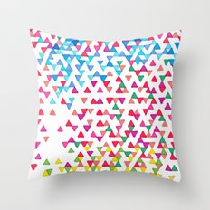 Hollywood Funfetti Sunset Throw Pillow