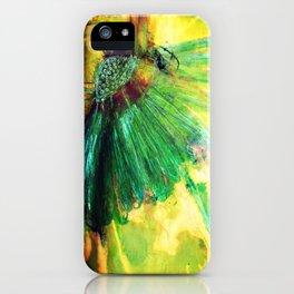 lazy daisy iPhone Case