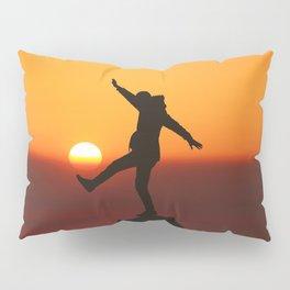 She Kicks the Sun (Color) Pillow Sham