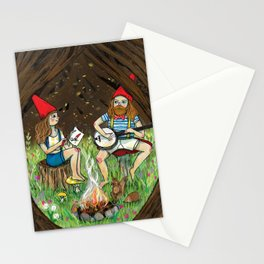 Gnome place like home Stationery Cards