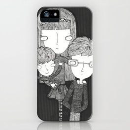 The Baudelaire orphans iPhone Case