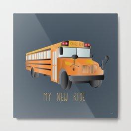 My New Ride Metal Print