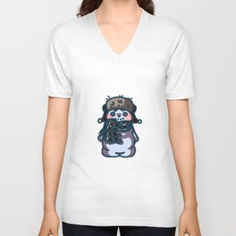 Jingles the Snowman Unisex V-Neck