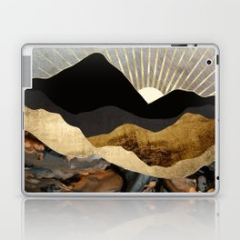Copper and Gold Mountains Laptop & iPad Skin