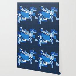 the blue dog Wallpaper