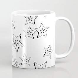 what's inside the Star fruit pattern Coffee Mug