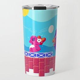 Teeny Tiny Worlds - Super Mario Bros. 2: Birdo Travel Mug