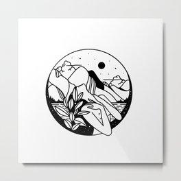 Litha Metal Print