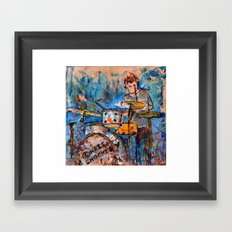 RHYTHMIC NOISE Framed Art Print