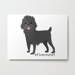 Monkey dog Metal Print