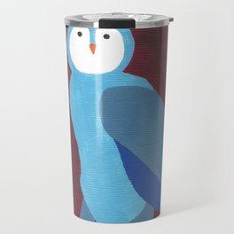 O is for Owl Travel Mug