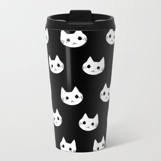 cats-395 Metal Travel Mug