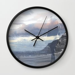 Into the Wave Wall Clock