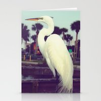 crane Stationery Cards featuring Crane by Haily Melendez