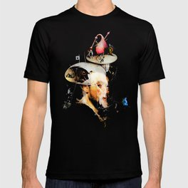 Bosch and Rubens Sandwich with a Peep of Magritte T-shirt