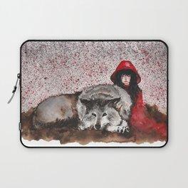 Caperucita Roja y el Lobo Laptop Sleeve