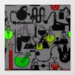 Glass Labware Canvas Print