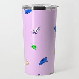 Legend of Zelda Pastel Print Travel Mug