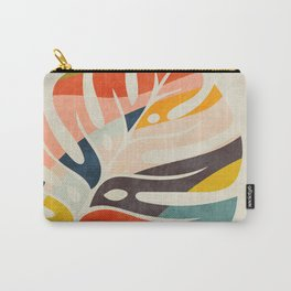 shape leave modern mid century Carry-All Pouch