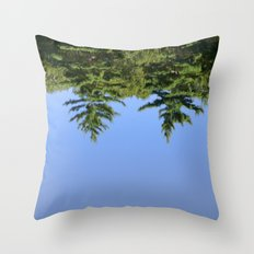 Reflecting at Farrar Pond 1 Throw Pillow