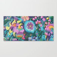 The Double Bee Canvas Print