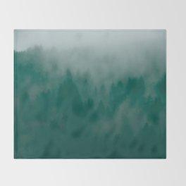 California Forest Throw Blanket