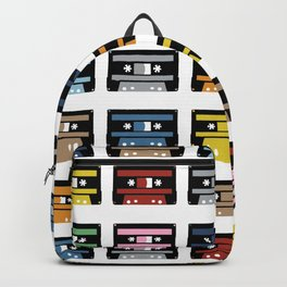 Rainbow Black Tapes Backpack