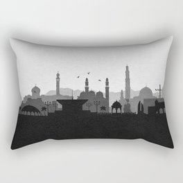 City Skylines: Muscat Rectangular Pillow