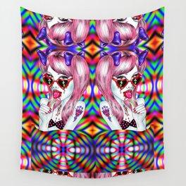 Neon Lolita Wall Tapestry