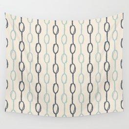 Girly Dot Stripe 4 Wall Tapestry